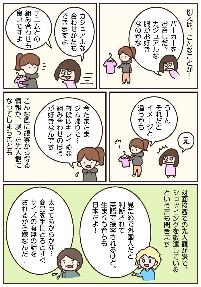 する 英語 観察